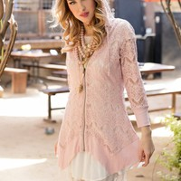 The Josie Tunic in Soft Pink - evy's tree