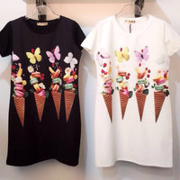 Butterfly Ice Cream Dress