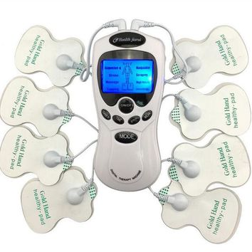 VONC1Y TENS Body Healthy care Digital meridian therapy massager machine Slim Slimming Muscle Relax Fat Burner pain new 2*4 pads massage