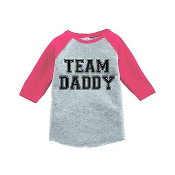 Custom Party Shop Girls' Father's Day Vintage Baseball Tee