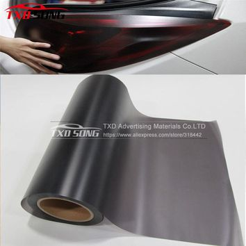 30X60CM/100CM/120CM Car styling Matte Black Headlight Film Tint Taillight Motorbike Headlight Rear Lamp smoke Tinting Film