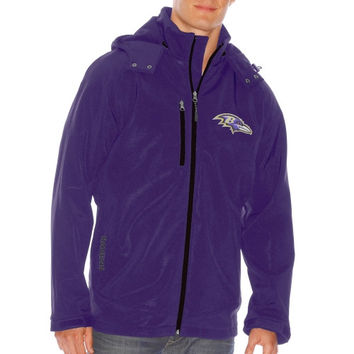 Baltimore Ravens Lateral Soft Shell Jacket – Purple