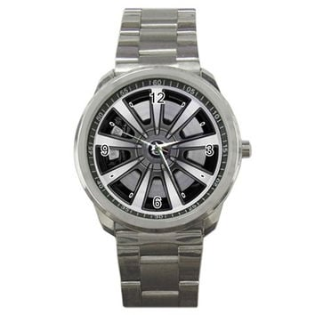 2012 Bentley Continental Flying Spur Series Wheel Sport Metal Watch