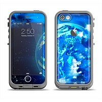 The Glowing Cloudy Planet Apple iPhone 5c LifeProof Fre Case Skin Set