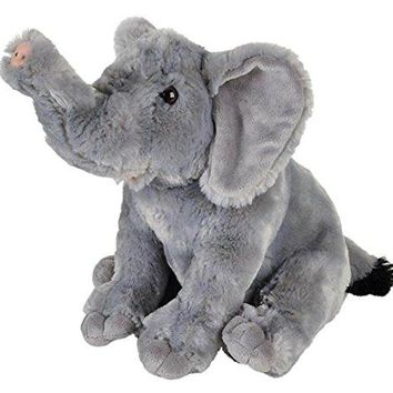 "Wildlife Tree 11"" Elephant Stuffed Animal Plush Floppy Zoo Animal Den Collection"