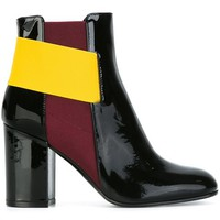 Pollini Contrast Strap Ankle Boots - G & B - Farfetch.com