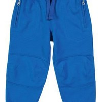 Clothing at Tesco | F Zip jogger blue > joggers > Younger boys (1-7years) >