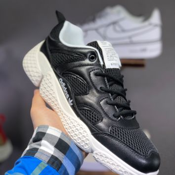 HCXX A1452 Adidas Boost Summer Breathable Mesh Retro Sneakers Black