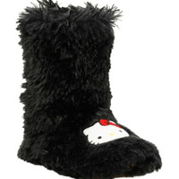 Hello Kitty Black Slipper Boots