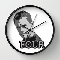 Divergent: Four Wall Clock by Flash Goat Industries