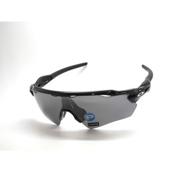 OAKLEY 9001-07 RADAR EV XS PATH POLISHED BLACK IRIDIUM POLARIZED