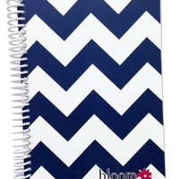 """Bloom Daily Planners 2017 Calendar Year Daily Planner - Passion/Goal Organizer - Monthly Weekly Agenda Datebook Diary - January 2017 - December 2017 - 6"""" x 8.25"""" - Santorini"""