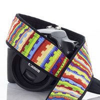 086 Camera Strap Southwest Stripe