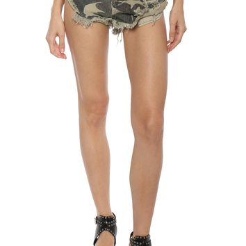 Brooklyn Karma Camouflage Shorts