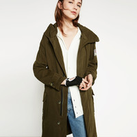 LONG OVERSIZED PARKA - View All-OUTERWEAR-WOMAN | ZARA United Kingdom