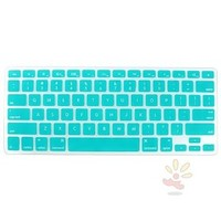 Everydaysource Compatible With Apple MacBook Pro 13-inch Teal Blue Silicone Keyboard Skin Shield