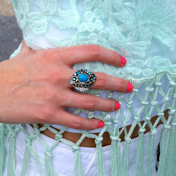 Blue Perfection Ring: Blue