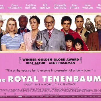 The Royal Tenenbaums 11x17 Movie Poster (2001)