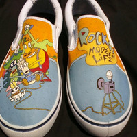 Rocko's Modern Life Shoes Size 10