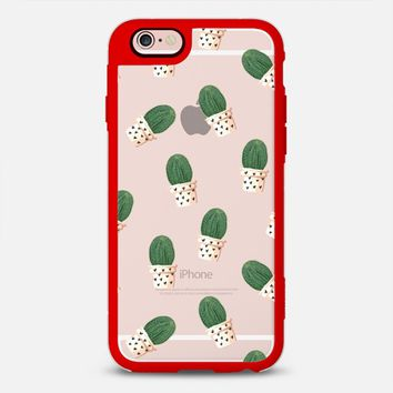 Latest Fashion Tech iPhone Case by Casetify | Cacti and Hearts Design by RubyRidgeStudio (iPhone 6, 6s, 6 Plus, 6s Plus, 7)