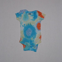 Tie Dye Onesuit  MultiBurst  Any Size Style and by OriginalAccents