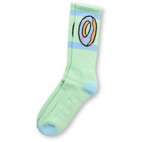 Odd Future Donut Mint Green Crew Socks at Zumiez : PDP