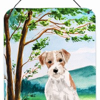 Under the Tree Jack Russell Terrier Wall or Door Hanging Prints CK1998DS1216