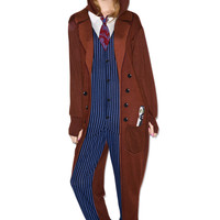 Undergirl 10th Doctor Onsie Brown