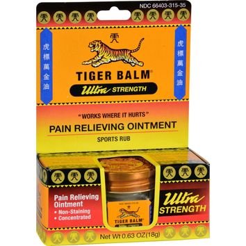 Tiger Balm Pain Relief Ointment - 0.63 oz