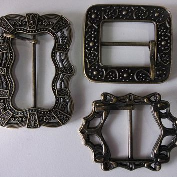 Jack Sparrow Pirates of The Caribbean Belt Buckle Cosplay Costume Prop Baldric