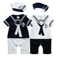 Choice of Boys Navy Sailor Outfits. 3 Piece Set