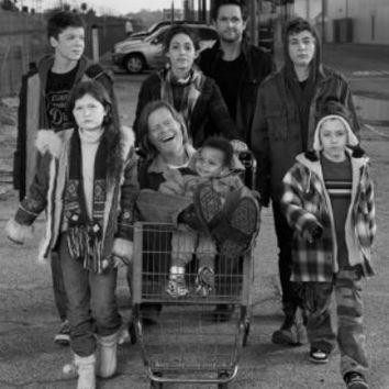 "Shameless Poster Black and White Mini Poster 11""x17"""