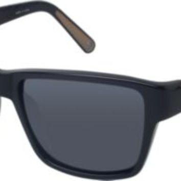 Sperry Top-Sider Bristol Polarized Sunglasses Black, Size One Size  Men's