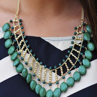 Jolly Green Giant Necklace: Emerald | Hope's