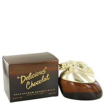 Delicious Chocolat by Gale Hayman Eau De Toilette Spray 3.3 oz