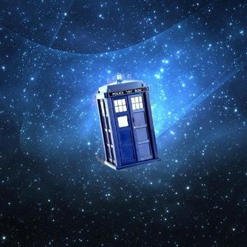 Doctor Who TARDIS 12x18 TV poster silk Fabric Print Wall Decor