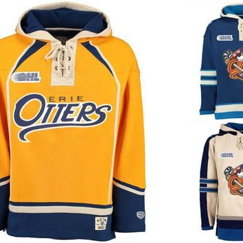 ca qiyif New Designs Erie Otters Style Sweatshirt