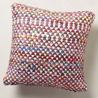 Textural Spectra Pillow by Anthropologie Multi 18 X 18 Pillows