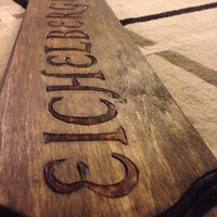 Large Customized Family Name Plaques