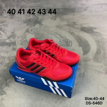 Adidas Original Fashion Football Shoes Red/Grey Two Color