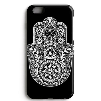Hamsa Hand Black Spiritual Phone Case
