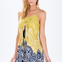 Bindi Paisley Shift Dress