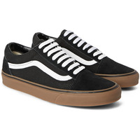 Vans - Old Skool Suede and Canvas Sneakers | MR PORTER