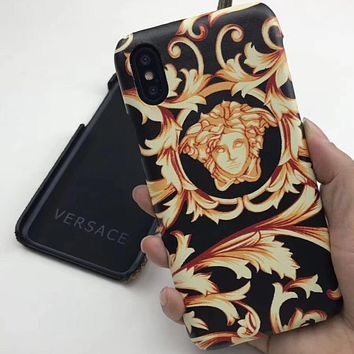 Perfect Versace Phone Cover Case For iphone 6 6s 6plus 6s-plus 7 7plus 8 8plus iPhone X XS XS max XR