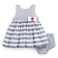 Infant Girl's Little Me Sleeveless Dress & Bloomers