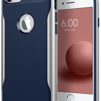 DCK4S2 Caseology Apex 2.0 Series iPhone 8 Cover Case with Design Slim Protective for Apple iPhone 8 (2017) Only - Navy Blue