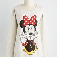 Quirky Mid-length Long Sleeve Sweatshirt Cartoon In Next Time Sweatshirt