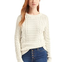 Twisted knit sweater | Gap
