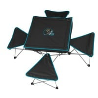 Jacksonville Jaguars Portable Folding Table & Stool Set (Black)