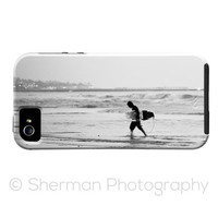 iPhone 5s Case - Surfer - Surfer Black and White iPhone 5C Case - iPhone 5 Case - iPhone 4/4s Case - Photography iPhone Case